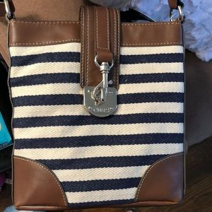 Brand NEW with tags! CHAPS Nautical purse ADORABLE